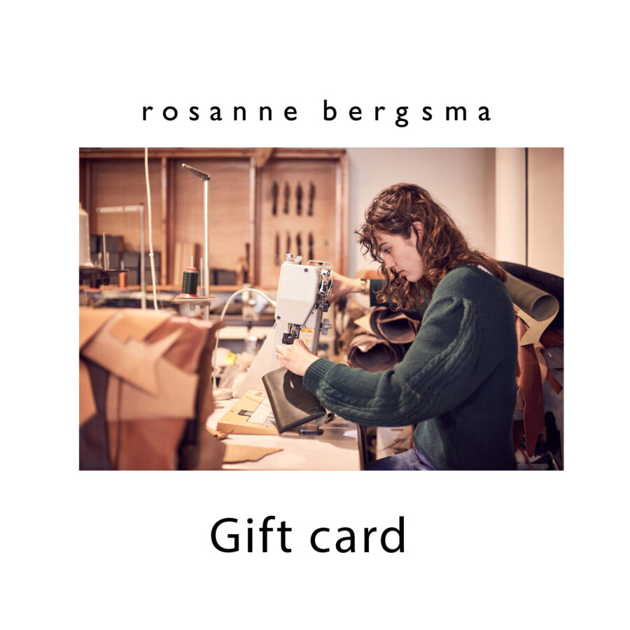 Gift card for a product or workshop
