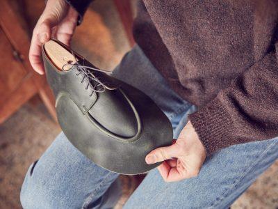 Studio Rosanne Bergsma in Arnhem maakt ambachtelijke schoenen.